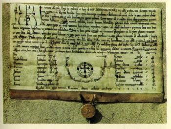 Privilegio del Rey Alfonso VIII. Año 1190